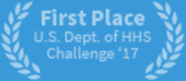 First Place U.S. Dept. of HHS Challenge '17